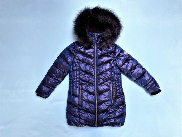 Пальто зимнее на овчине Next, р.116 (6 лет)