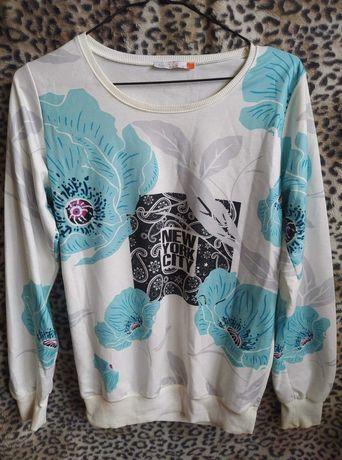 Bluza w kwiaty L