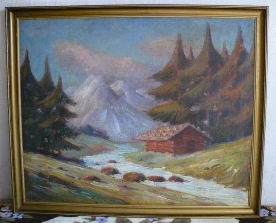 Obraz olejny Carl Wagn