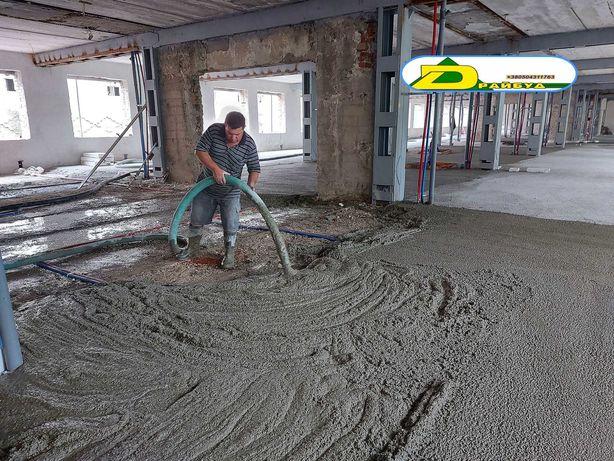 полістиролбетон (стяжка підлоги і покрівлі)