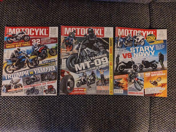 Motocykl stare wydania 2013, 2012 miesięczniki