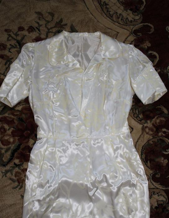 sukienka kremowa nowa w kwiaty S