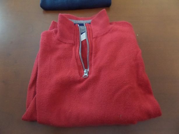 - Camisolas de fecho azul e vermelha Zippy -