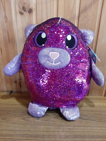 Мягкая игрушка с пайетками SHIMMEEZ НЕЖНЫЙ КОТИК кот 36 см