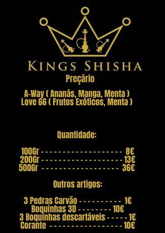 Kings Shisha Sabores
