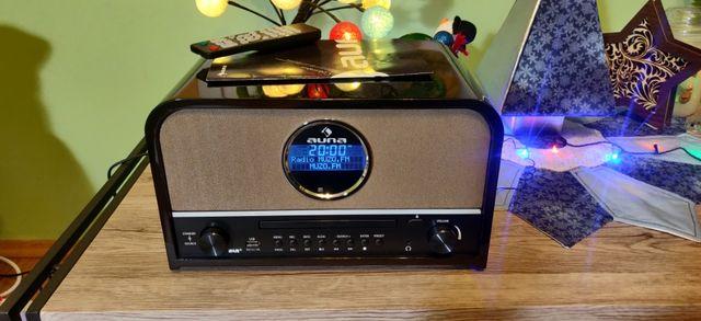 AUNA Columbia Radio RETRO DAB CD FM USB Bluetooth