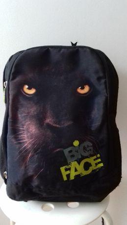 plecak czarny big face