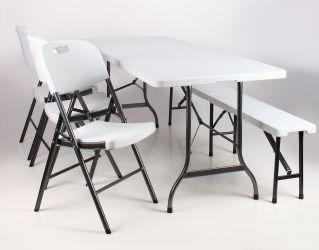 Стол складной Крайслер Стіл складаний 122-180 та 240 см Стол ПОЛЬЩА
