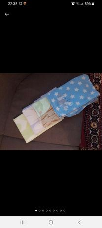 Плед одеяло + ПОДАРОК одеялко для новорожденных