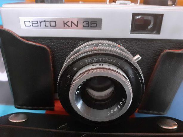 Aparat fotograficzny CERTO KN 35 -DDR