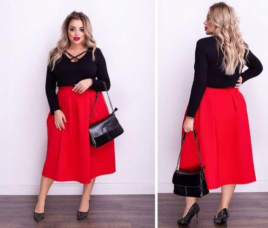 Женская блуза и юбка