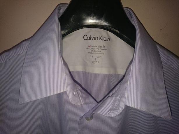 Рубашка Calvin Klein на стройного мальчика-подростка. Новая.