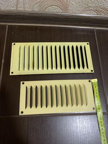 Металические вентиляционные решетки