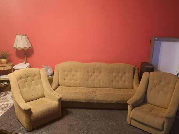 Sprzedam kanapę i dwa fotele