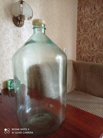 Бутыль, бутылка, тара для вина 25 л