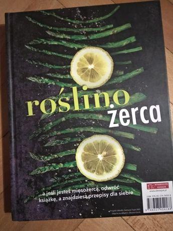 Książka kucharska roślinozerca miesozerca przepisy kulinarne Rm1000