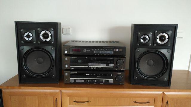 Wieża GRUNDIG HIFI Vintage, wzmacniacz stereo, tuner, deck ( komplet )