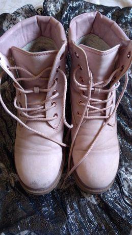 Женские утепленные ботинки,фирма landrover