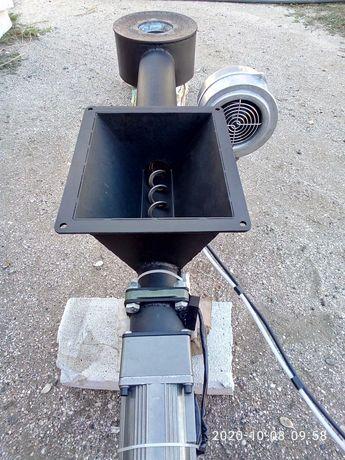 Пеллетная горелка ретортного типа 40 кВт
