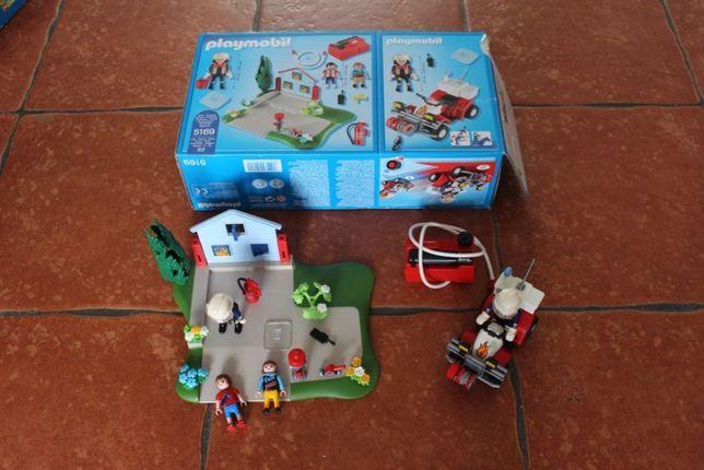 Playmobil Strażacy w akcji + Quad 5169