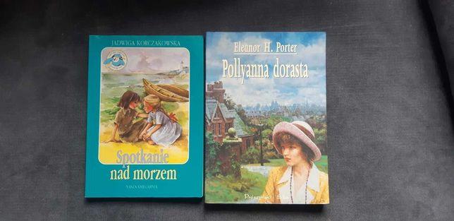 2 ksiazki dla starszych dzieci