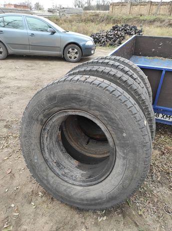 Резина грузовая Кама 10.00 310 в сборе с диском