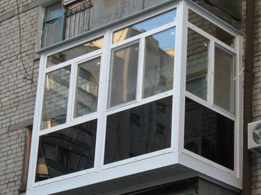 Остекление, утепление балконов, лоджий