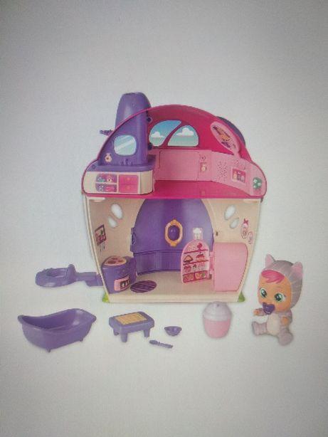 Домик  из игрового набора Crybabies Magic Tears:Плачущий младенец Кэти