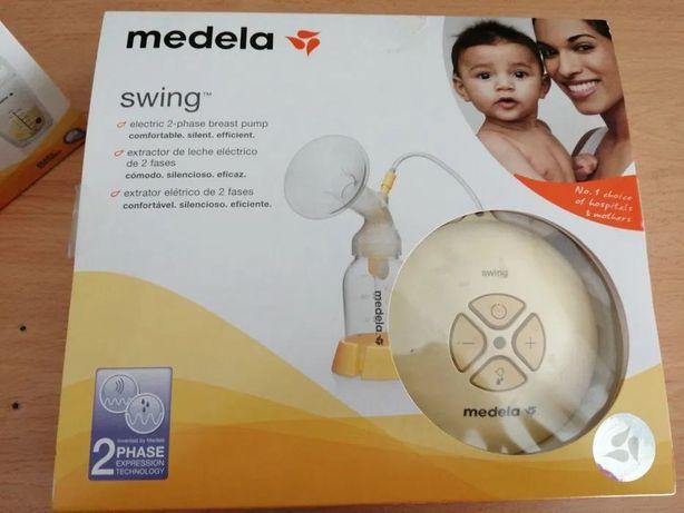 Bomba Medela Swing Flex + biberão  Medela com retina calma