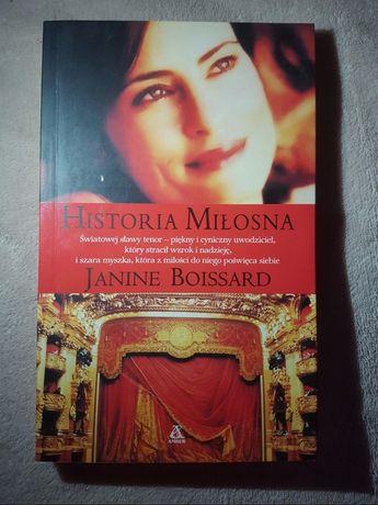 """Historia miłosna"" Janine Boissard"