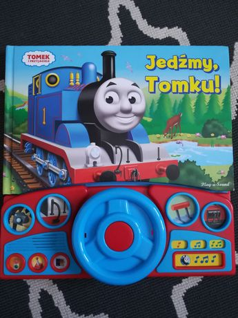 Tomek i przyjaciele książka z kierownicą i dźwiękami