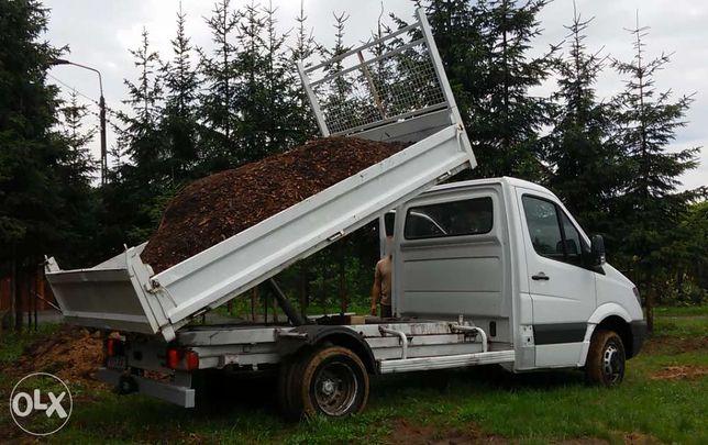 Transport ziemi gruzu drewna Wywrotka Usługi Transportowe do 3,5t