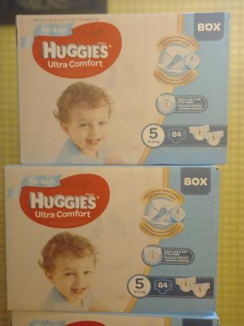Подгузники Huggies Ultra Comfort 5 для мальчиков