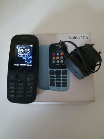 Нокия 105 на две сим . Nokia