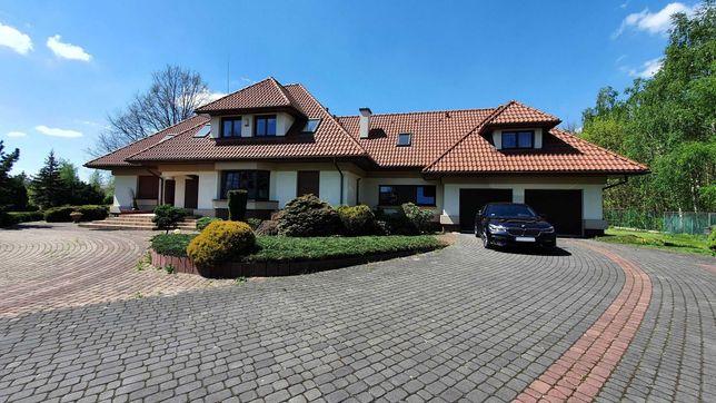 Ksawerów - do wynajęcia dom 390 m2 (6 pokoi) garaż na 2 auta