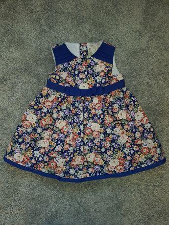 Śliczna sukienka 80 cm