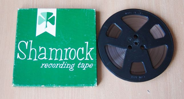 Магнитная лента для магнитофона Shamrock (370 м). USA. Бобина 18 см.