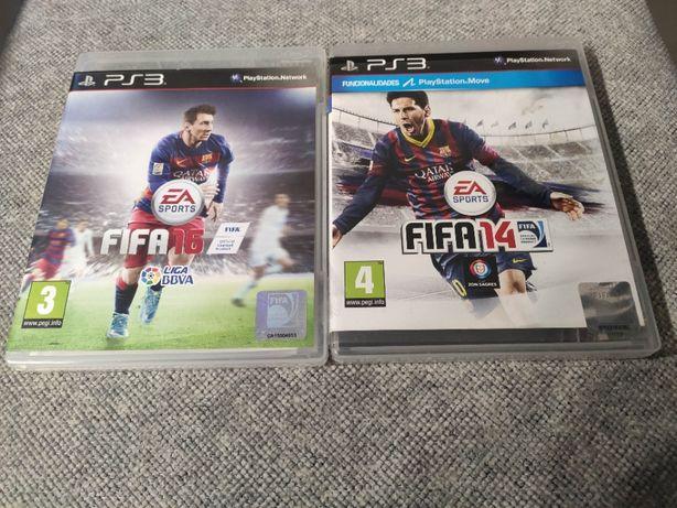 Fifa 14 e 16 PS3