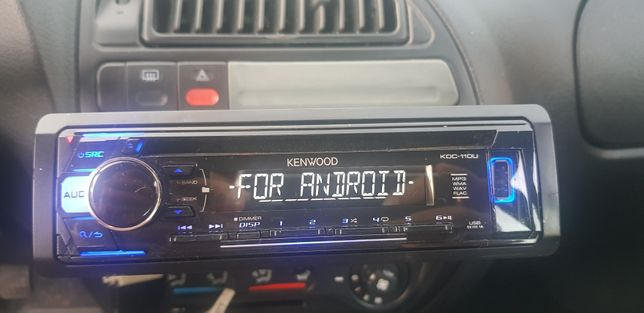 Auto-rádio Kenwood mais Subwoofer