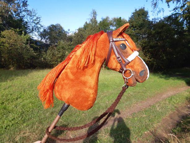 Hobby horse rudy konik ma patyku *cena do propozycji*