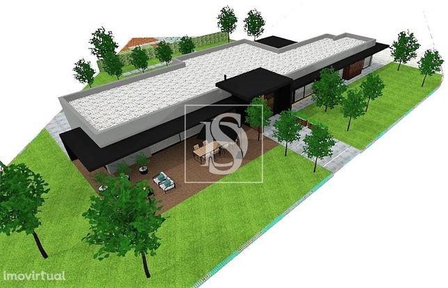 Terreno c/ projeto p/ construção de moradia Térrea