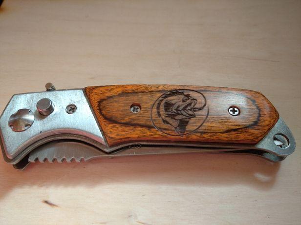 Nóż spręźynowy grawer prezent