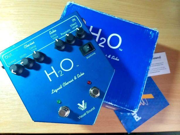 Педаль эффектов Visual Sound H2O Chorus & Echo