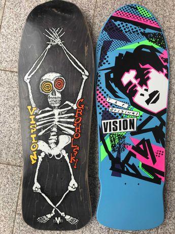 Tábua skate Oldschool VISION Gonzales