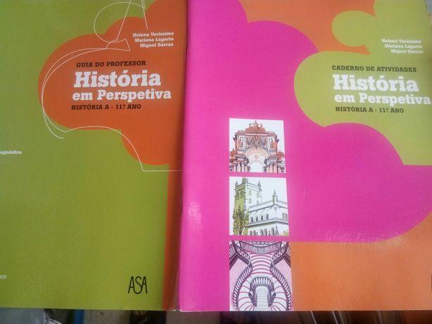 """Caderno Atividades """"História em Perspetiva"""" 11º Ano - ASA (Estrear)"""
