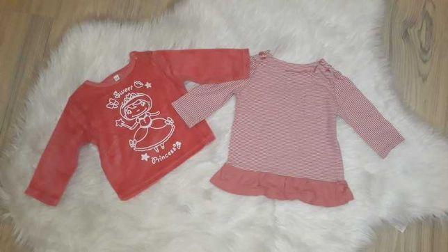 Bluzeczki dla dziewczynki
