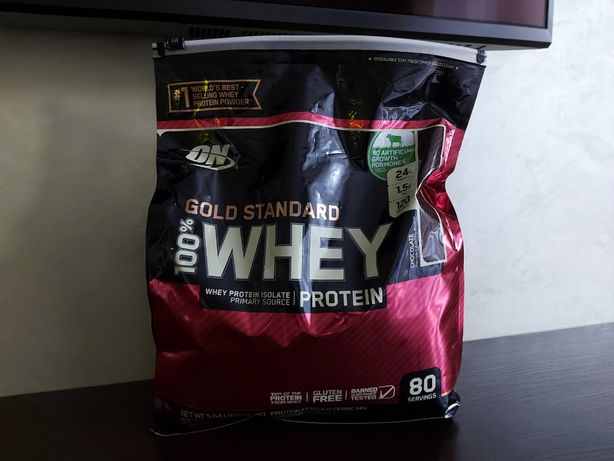 Протеїн Optimum Nutrition 100% Whey Gold Standard 2.57 кг