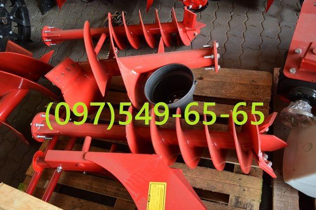 ВИРАКС Садовый бур 2 сверла 250 / 500 мм садовий ВІРАКС Ямобур WIRAX