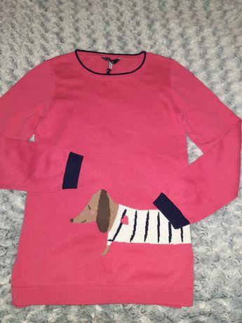 Розовая кофта для девочки