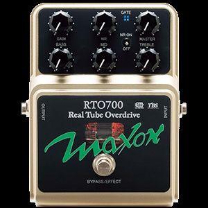 MAXON RTO 700 real tube overdrive, made in Japan, ламповий овердрайв